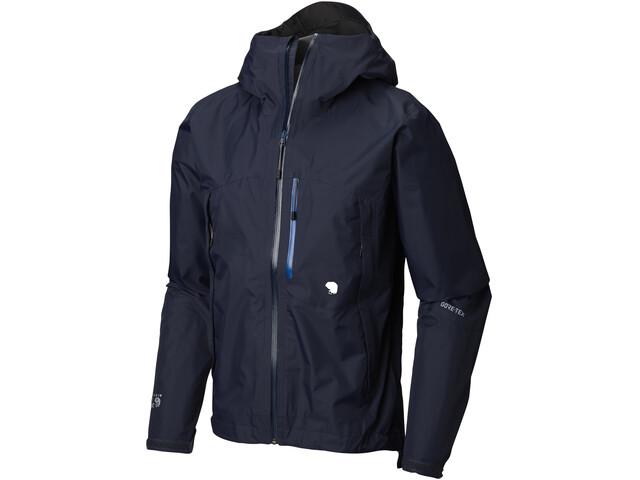 Mountain Hardwear M's Exposure/2 Gore-Tex Paclite Jacket Dark Zinc